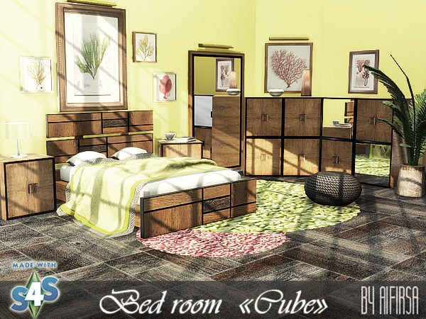 Cube bedroom at Aifirsa image 13116 Sims 4 Updates