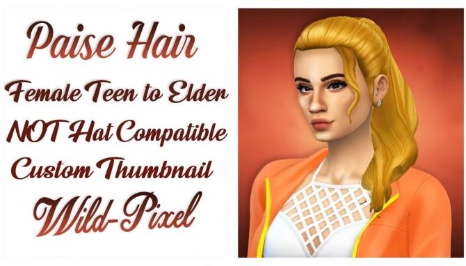 PAISE HAIR at Wild Pixel image 1323 670x382 Sims 4 Updates