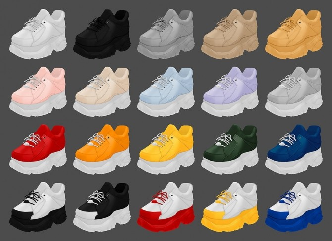 Buffalo Sneakers at MMSIMS image 13311 670x486 Sims 4 Updates