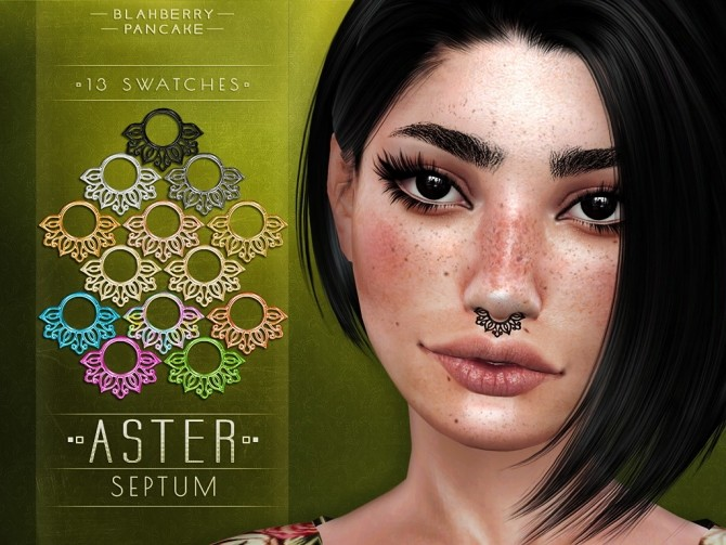 Aster & Spike septum at Blahberry Pancake image 1333 670x503 Sims 4 Updates