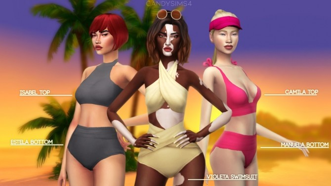 TROPICO SWIMWEAR COLLECTION at Candy Sims 4 image 1335 670x377 Sims 4 Updates