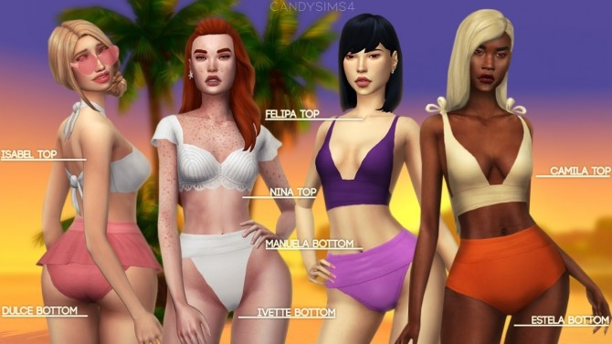 TROPICO SWIMWEAR COLLECTION at Candy Sims 4 image 1345 670x377 Sims 4 Updates
