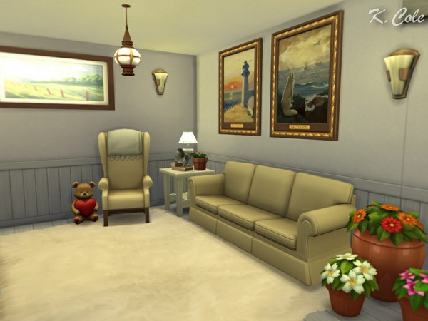 Vivienne Cottage by K.Cole at TSR image 1350 Sims 4 Updates