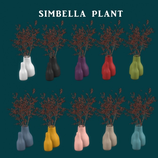 Simbella Plant at Leo Sims image 1384 670x670 Sims 4 Updates