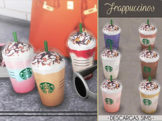 Sims 4 Frappuccinos at Descargas Sims