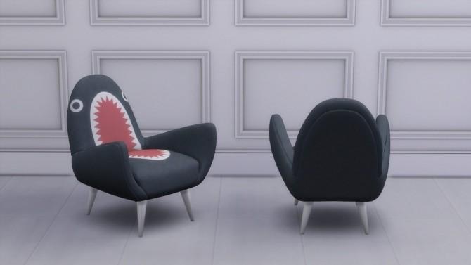 RODNIK SHARK FIN CHAIR at Meinkatz Creations image 14110 670x377 Sims 4 Updates
