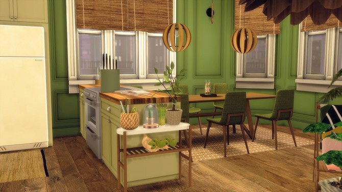 Sims 4 67 | NATURE TONES APT. at SoulSisterSims