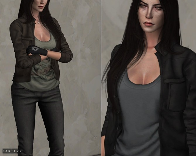 Suede Jacket at Darte77 image 14312 670x536 Sims 4 Updates