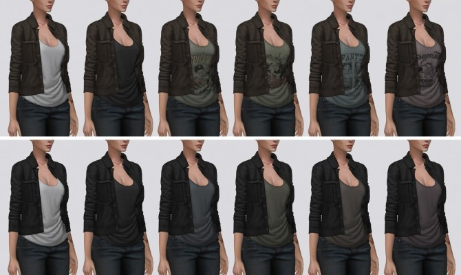 Suede Jacket at Darte77 image 14411 670x400 Sims 4 Updates