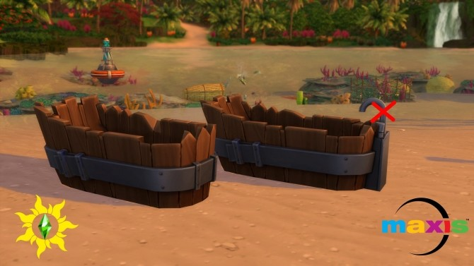 Cask & Barrel Antique Tub Reworked by Serinion at Mod The Sims image 1475 670x377 Sims 4 Updates