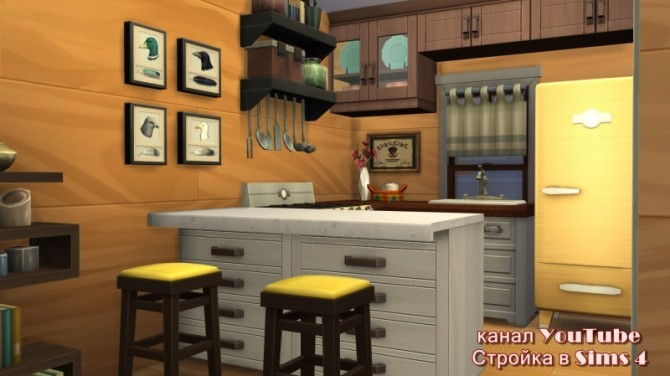 Sims 4 Container House at Sims by Mulena