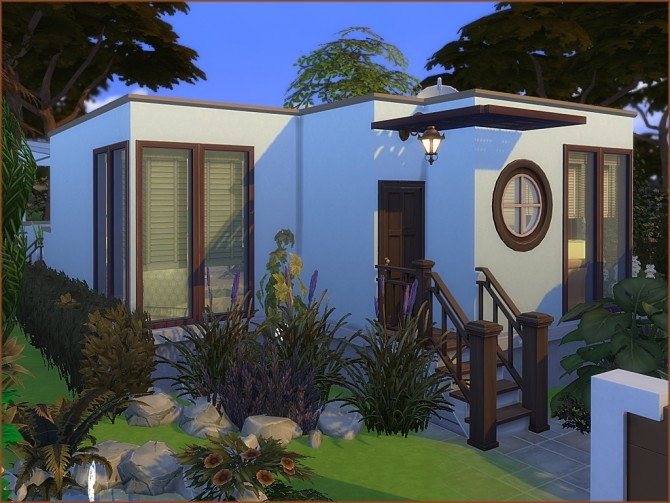 Mea Tiny Semi Modern house by oumamea at Mod The Sims image 15111 670x503 Sims 4 Updates