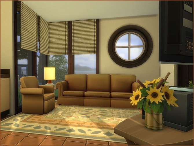 Mea Tiny Semi Modern house by oumamea at Mod The Sims image 1526 670x503 Sims 4 Updates