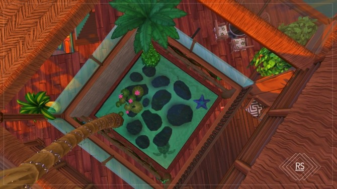 Sims 4 BACALAR HOUSE at RUSTIC SIMS
