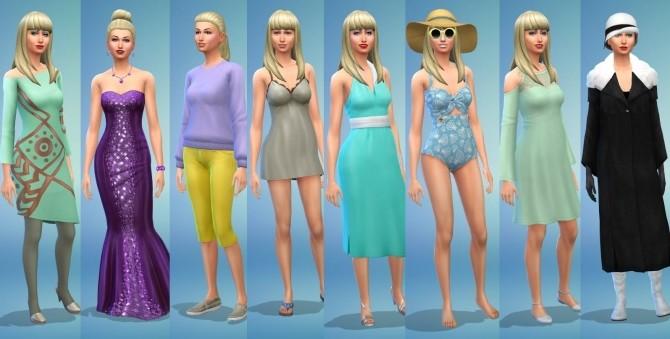 Sims 4 Blake and Dinah at KyriaT's Sims 4 World
