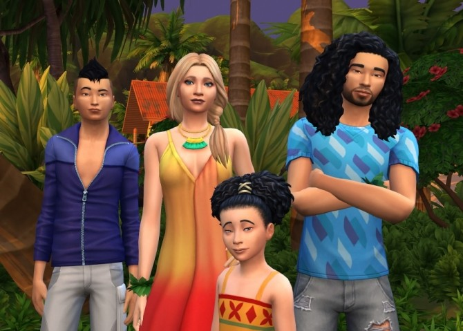 The White family by Delise at Sims Artists image 1564 670x479 Sims 4 Updates