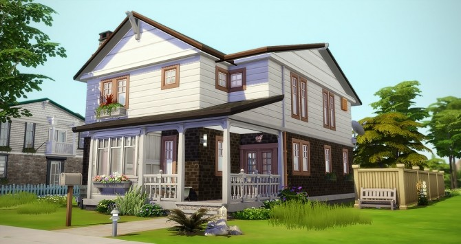 Sims 4 Souvenirs Heureux house at Simsontherope