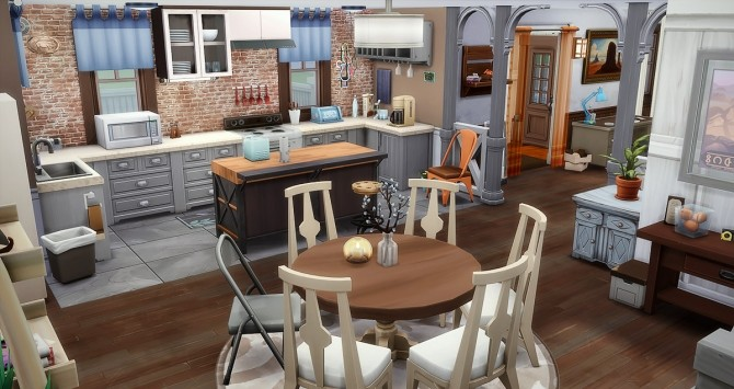 Souvenirs Heureux house at Simsontherope image 1585 670x355 Sims 4 Updates