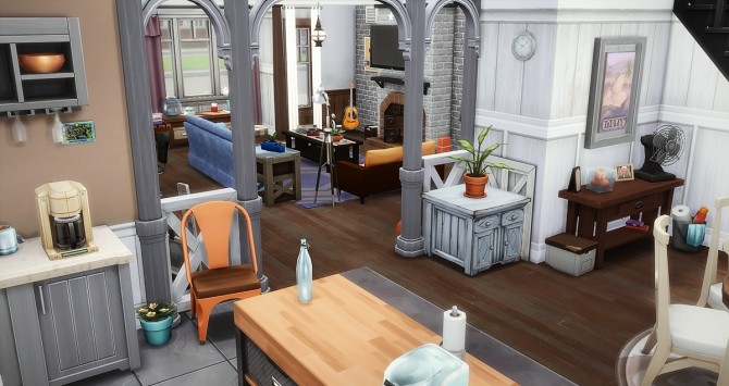 Souvenirs Heureux house at Simsontherope image 1596 670x355 Sims 4 Updates