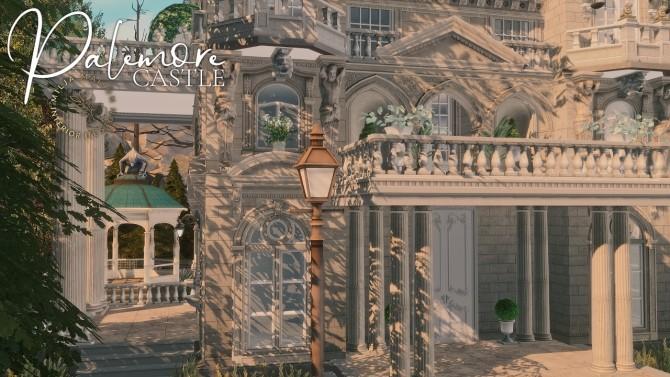Sims 4 PALEMORE CASTLE at Milja Maison