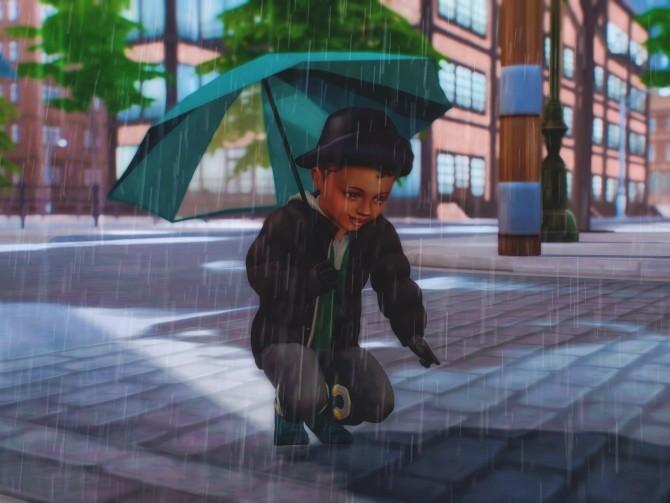 Sims 4 Umbrella Poses for Toddlers at Katverse
