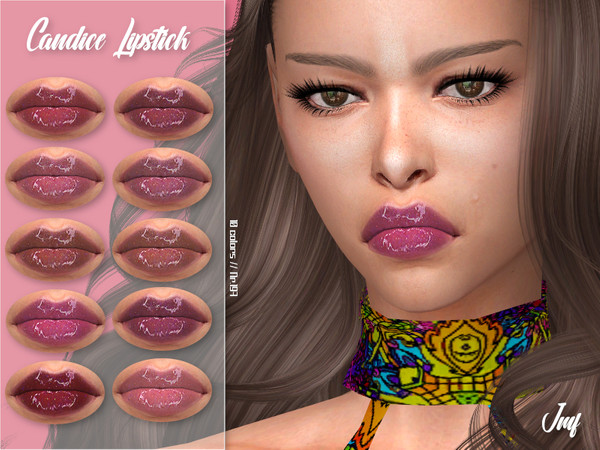 Sims 4 IMF Candice Lipstick N.197 by IzzieMcFire at TSR