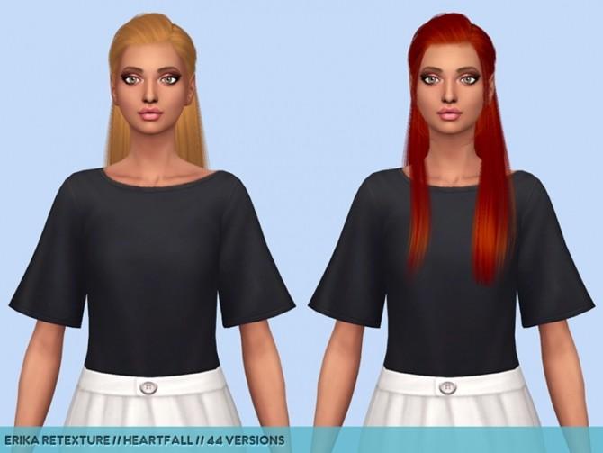 Sims 4 Hair retextures part 1 at Heartfall