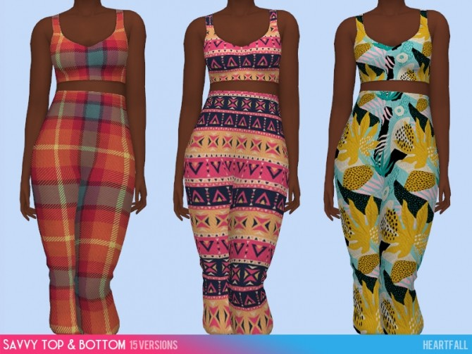 Savvy bodysuit, top and bottom at Heartfall image 1722 670x503 Sims 4 Updates