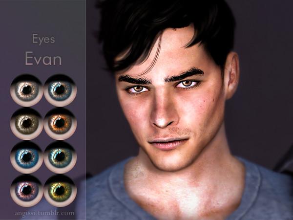 Sims 4 Evan eyes by ANGISSI at TSR