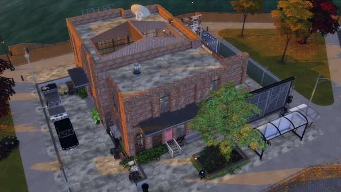 Sims 4 64 | FACTORY LOFT at SoulSisterSims