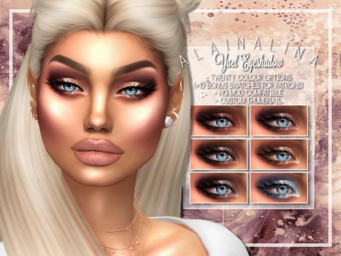 Sims 4 Yael Eyeshadow at AlainaLina