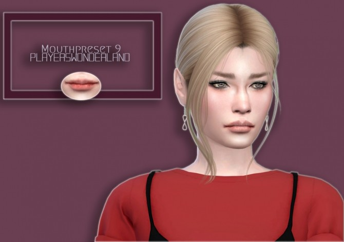 Mouth Preset 9 at PW's Creations image 18112 670x471 Sims 4 Updates