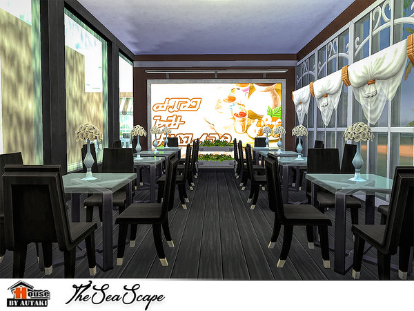 The Sea Scape restaurant by autaki at TSR image 1838 Sims 4 Updates