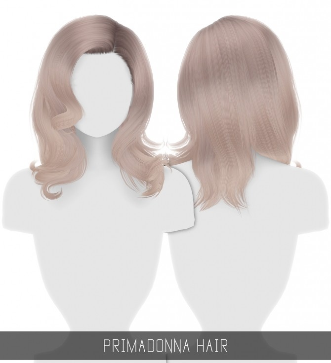 Sims 4 PRIMADONNA HAIR + TODDLER & CHILD at Simpliciaty
