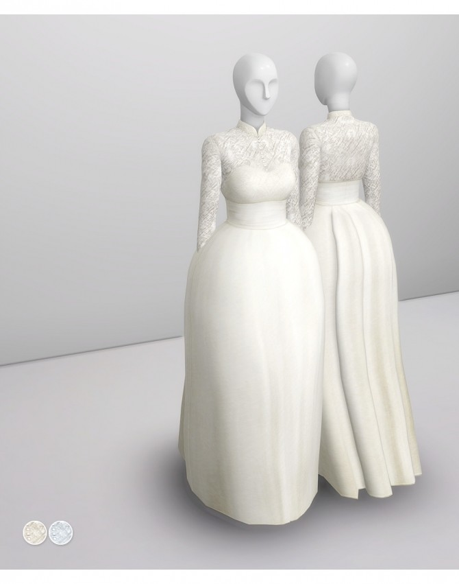 Grace of Monaco gown at Rusty Nail image 1851 670x851 Sims 4 Updates