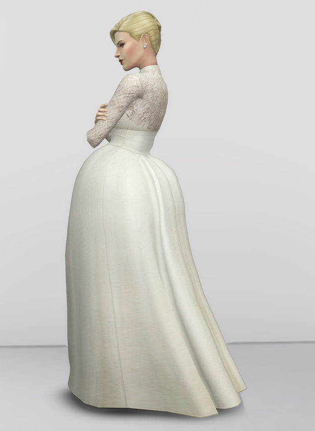 Grace of Monaco gown at Rusty Nail image 1861 Sims 4 Updates