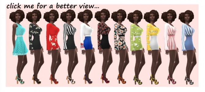 MADLEN'S LEONA SHOES RECOLOURS at Sims4Sue image 1862 670x303 Sims 4 Updates