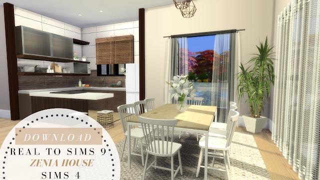 Sims 4 ZENIA HOUSE at Dinha Gamer