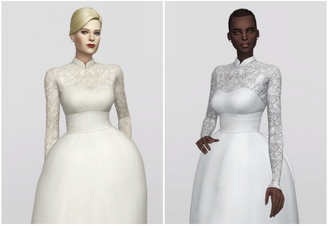 Grace of Monaco gown at Rusty Nail image 1891 670x461 Sims 4 Updates