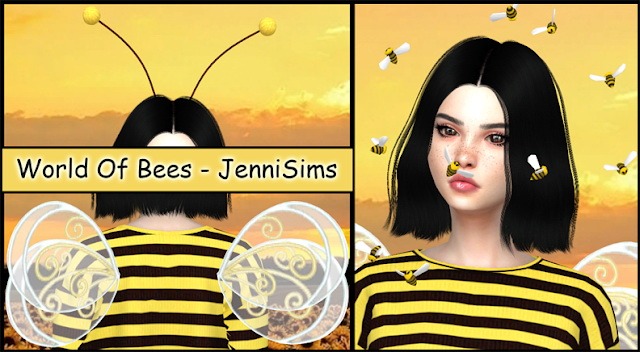Sims 4 Collection Acc World Of Bee at Jenni Sims