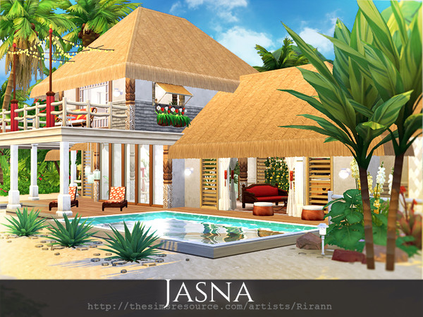 Jasna beach cottage by Rirann at TSR image 1927 Sims 4 Updates
