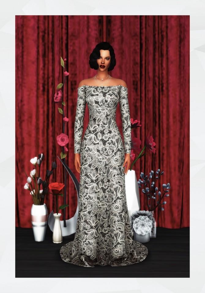 Sposa Dress at Gorilla image 1941 670x955 Sims 4 Updates