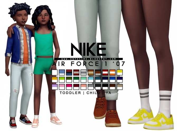 Air Force 1 07 at Onyx Sims image 1954 670x497 Sims 4 Updates