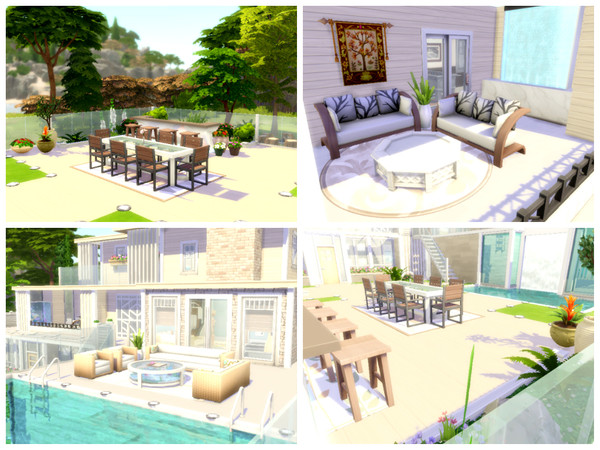 Modern Dream house by Mini Simmer at TSR image 2 Sims 4 Updates