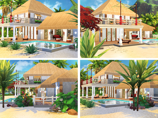 Jasna beach cottage by Rirann at TSR image 2020 Sims 4 Updates