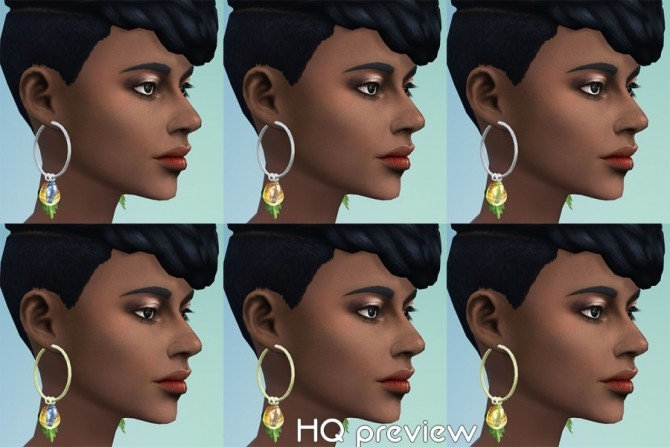 GaHas earrings by Delise at Sims Artists image 2022 670x447 Sims 4 Updates