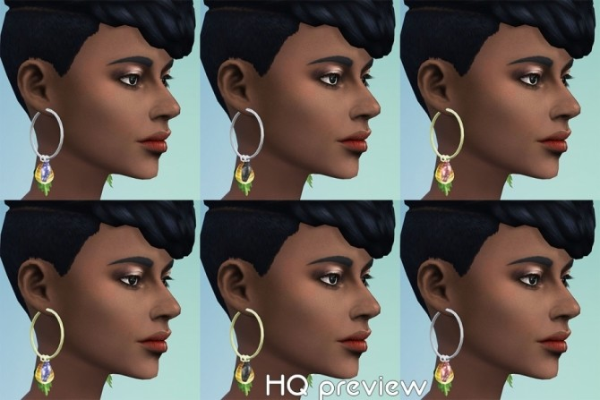 GaHas earrings by Delise at Sims Artists image 2032 670x447 Sims 4 Updates