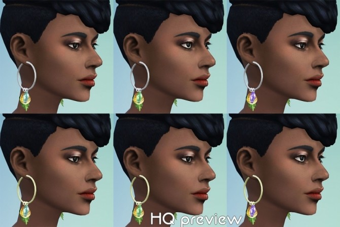 GaHas earrings by Delise at Sims Artists image 2041 670x447 Sims 4 Updates