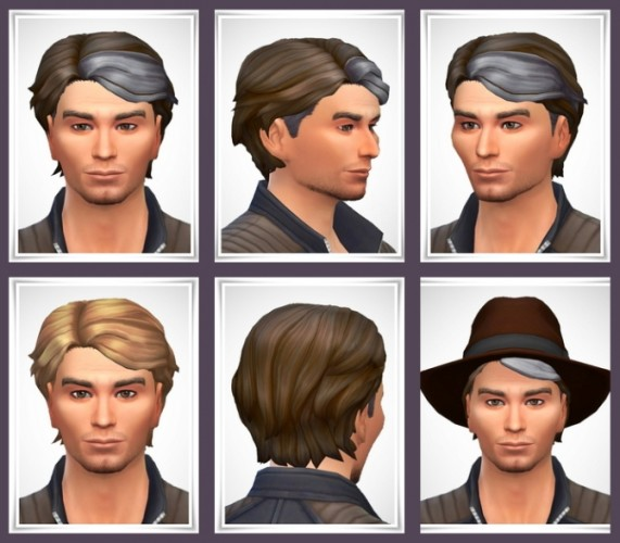 Black male hairstyles sims 3