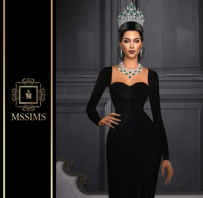 Sims 4 LE JARDIN DELUXE TIARA (P) at MSSIMS